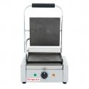 Empura E-SG-811/F Single Flat Commercial Panini Sandwich Grill - 120V, 1750W