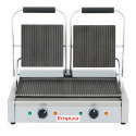Empura E-SG-813 Double Grooved Commercial Panini Sandwich Grill - 120V, 1750W