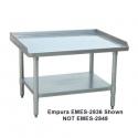 """Empura EM-ES-2848 48"""" x 28"""" Stainless Steel Equipment Stand With Galvanized Steel Undershelf"""