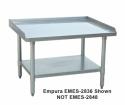 """Empura EM-ES-2860 60"""" x 28"""" Stainless Steel Equipment Stand With Galvanized Steel Undershelf"""