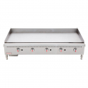 "Empura EMG-60 60"" Stainless Steel Griddle with 5 Burners, 150,000 BTU"