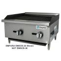 "Empura EMSCB-36 36"" Medium Duty Gas Charbroiler, 84,000 BTU"