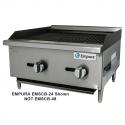 "Empura EMSCB-48 48"" Medium Duty Gas Charbroiler, 112,000 BTU"
