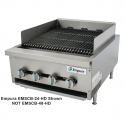"""Empura EMSCB48-HD 48"""" Heavy Duty Gas Charbroiler, 160,000 BTU"""