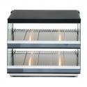 """Empura HFD-85 48"""" 85-Liter 2-Shelf Countertop Hot Food Display Merchandiser - 1160W"""