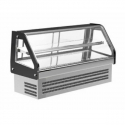 """Empura KCD-36 36"""" Curved Glass Refrigerated Countertop Deli Display Case"""